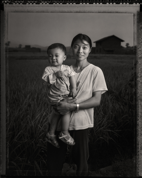 Mother With Child-China