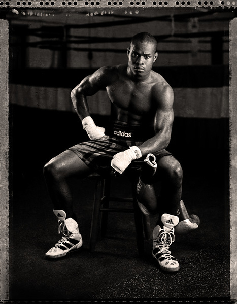 USA Olympic Boxer/Rock